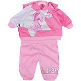 Одежда для спорта Зайчик, темно-розовый, BABY born