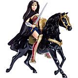 Игровой набор с куклой Воительница с лошадью