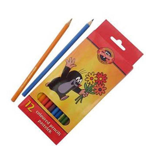 KOH-I-NOOR Набор карандашей цветных КРОТ, 12 цв