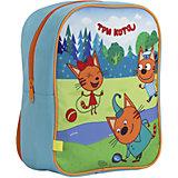 Рюкзак дошкольный Kinderline Три Кота