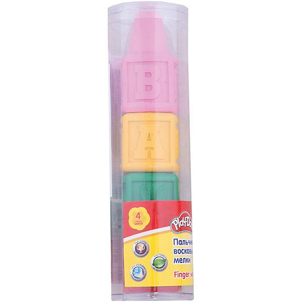 Play-Doh Восковые мелки для самых маленьких 4 шт. Размер 14 х 3,7 х 3,7 см.