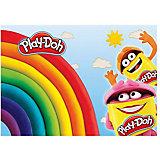 Play-Doh Подкладка на стол д/лепки и рисования А4 Размер 21 x 30 см.
