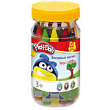 Play-Doh Набор восковых мелков 20 шт, в банке. Размер 12,5 х 6 х 6 см.