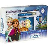 """Канцелярский набор Kinderline """"Холодное сердце"""" в подарочной упаковке"""