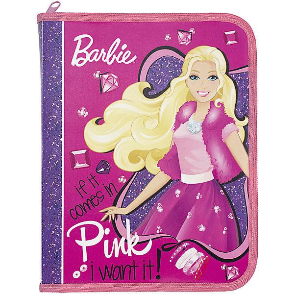 "Папка для тетрадей Kinderline ""Barbie"""