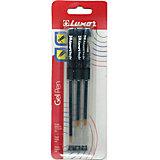 Ручки Tru Gel 3 штуки 0,3мм черные