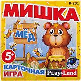 """Настольная игра """"Мишка и мед"""", Play Land"""