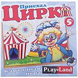 """Настольная игра """"Цирк приехал"""", Play Land"""