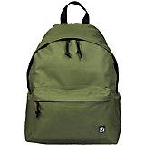 Рюкзак Brauberg Классика зеленый, 20 литров