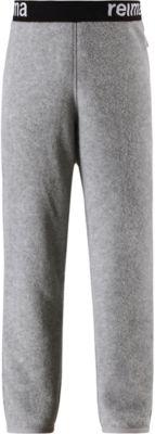 Флисовые брюки Reima Argelius для мальчика - серый