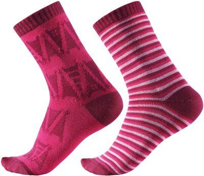 Носки Reima Strum, 2 пары - розовый