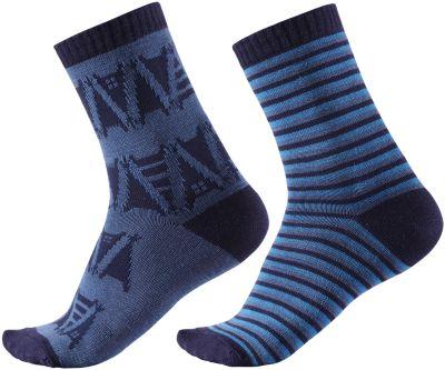 Носки Reima Strum, 2 пары - синий