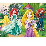Пазлы Очаровательные принцессы, 30 элементов, Trefl