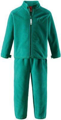 Флисовый комплект Reima Etamin - зеленый