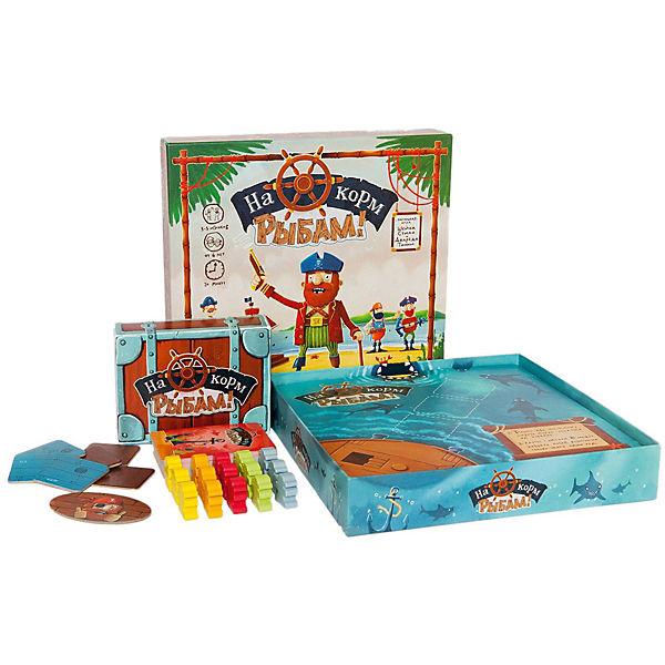 """Настольная игра """"На корм рыбам"""", Cosmodrome Games"""