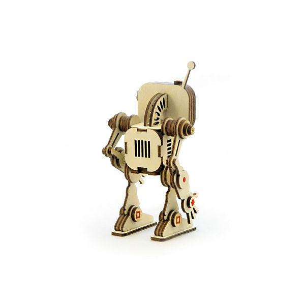 """Деревянный  3D конструктор подвижный """"Робот Флеш"""", Lemmo"""