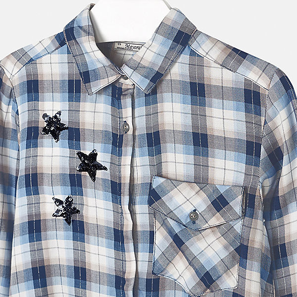Голубые блузки для школы в москве
