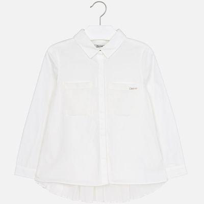 Рубашка Mayoral для девочки - белый