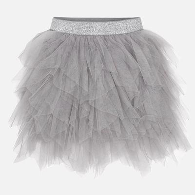 Юбка Mayoral для девочки - серый