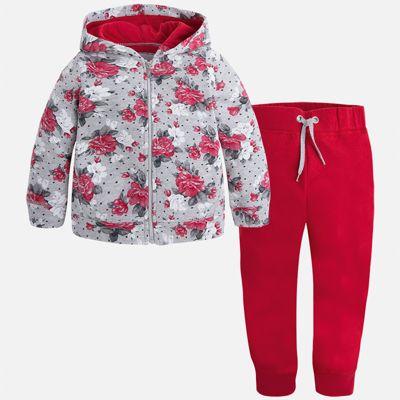 Спортивный костюм для девочки Mayoral - красный