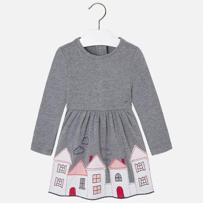 Платье Mayoral для девочки - серый