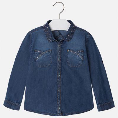 Блузка для девочки Mayoral - голубой