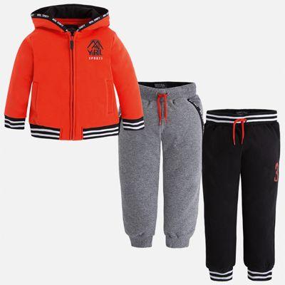 Спортивный костюм для мальчика Mayoral - оранжевый