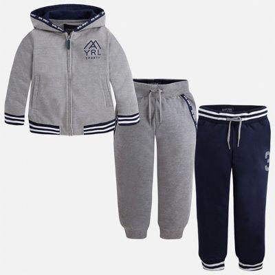 Спортивный костюм для мальчика Mayoral - серый