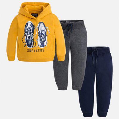 Спортивный костюм для мальчика Mayoral - желтый