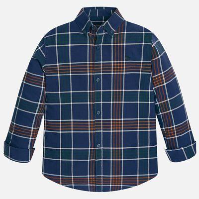 Рубашка для мальчика Mayoral - синий