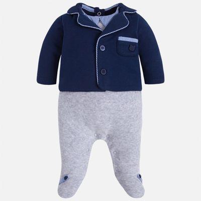 Комбинезон для мальчика Mayoral - сине-серый
