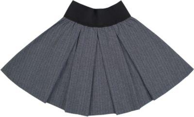Юбка для девочки Апрель - серый