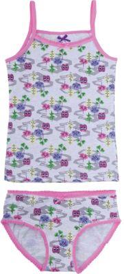 Комплект: майка и трусы для девочки Sweet Berry - разноцветный