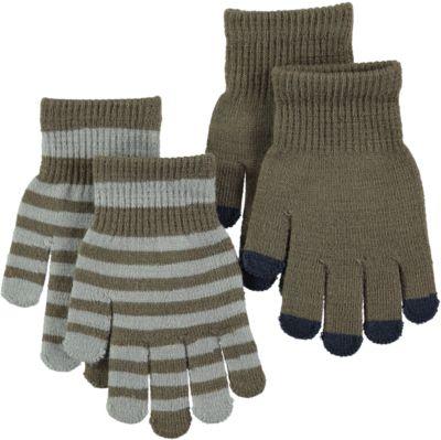 Перчатки MOLO для мальчика - коричневый