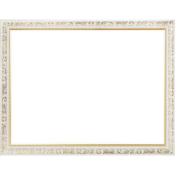 Багетная рама для картин 30х40см  1535-BL Empire (белый) Белоснежка