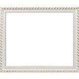 Багетная рама для картин 40х50см 2645-BB Constance (белый) Белоснежка