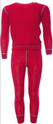 Комплект Janus для девочки - красный