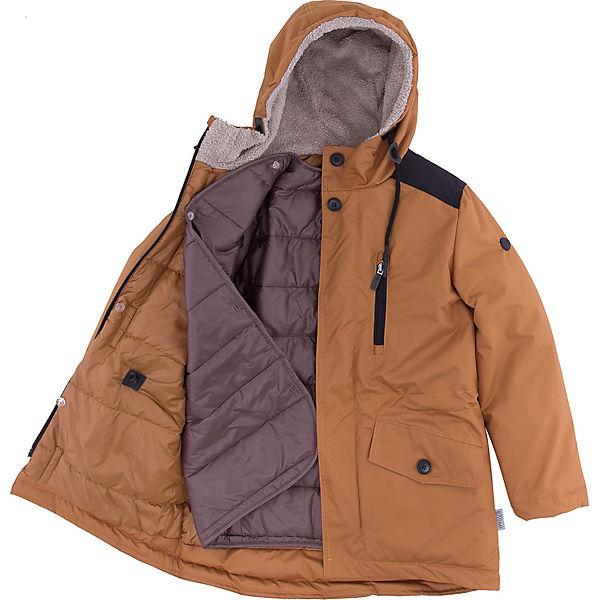 Куртка-парка BOOM by Orby для мальчика
