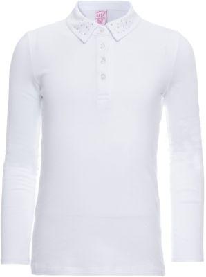 Блузка SELA для девочки - белый