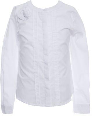 Блуза SELA для девочки - белый