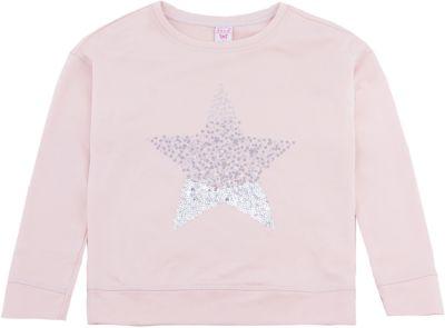 Толстовка SELA для девочки - розовый