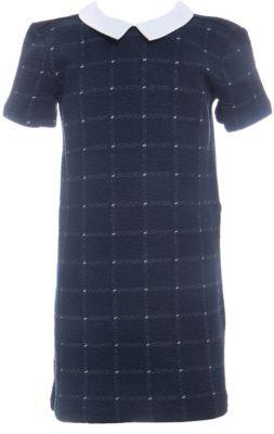 Платье SELA для девочки - темно-синий