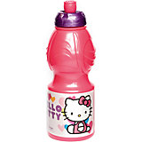 Бутылка пластиковая 400 мл., Hello Kitty