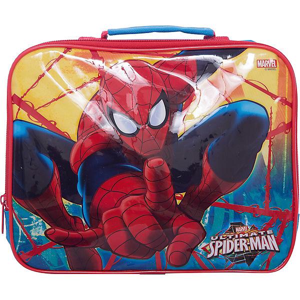 Сумка для контейнера изолированная, Человек-паук Красная паутина