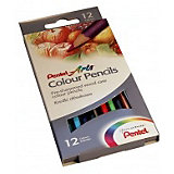Цветные карандаши 12 цветов Colour pencils Pentel