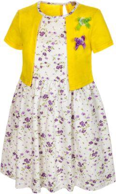 Платье M&D для девочки - желтый
