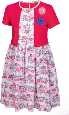 Платье M&D для девочки - фуксия