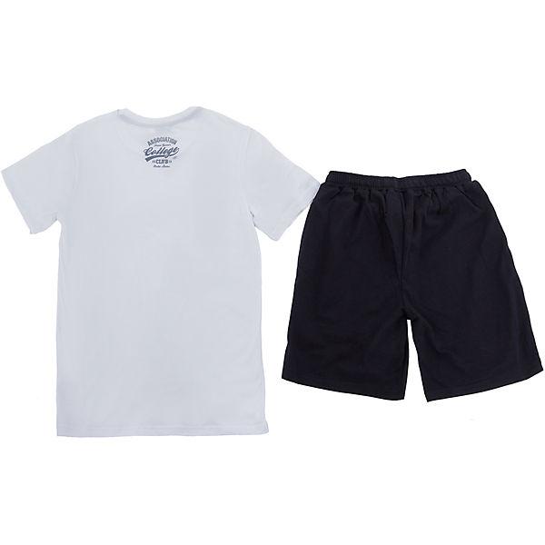 Комплект: футболка и шорты Nota Bene для мальчика