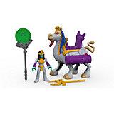 Фигурка Fisher-Price Imaginext Расхитители гробниц: Serpent Queen & Camel