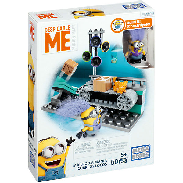 Игровой набор серия III MEGA CONSTRUX Миньоны